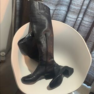Nearly new. Over the knee YSL boots.